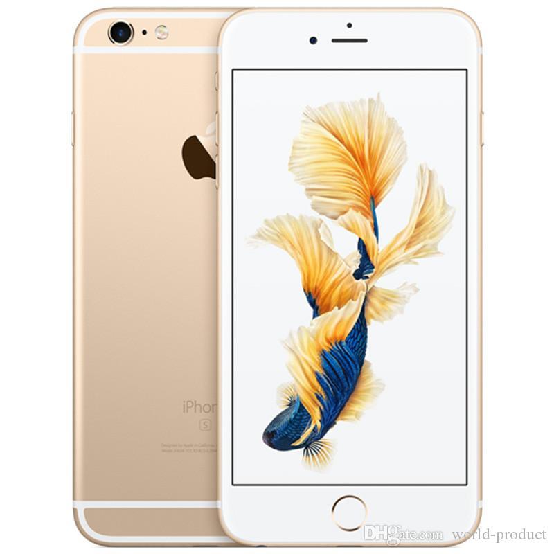 iPhone da Apple original 6S Além disso Dual Core 2GB RAM 16 32 64 128 GB ROM 5.5Inch 12.0MP câmera LTE Desbloqueado remodelado telefone