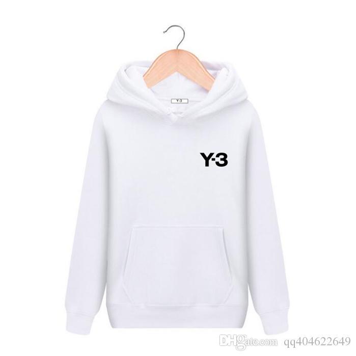 Y3 الترفيه ماركة النساء رجل مصممون السترة إلكتروني سيدة أوم مقنع سترة فاخرة بيبر هوديي طويلة الأكمام فضفاض البلوز YS الملابس