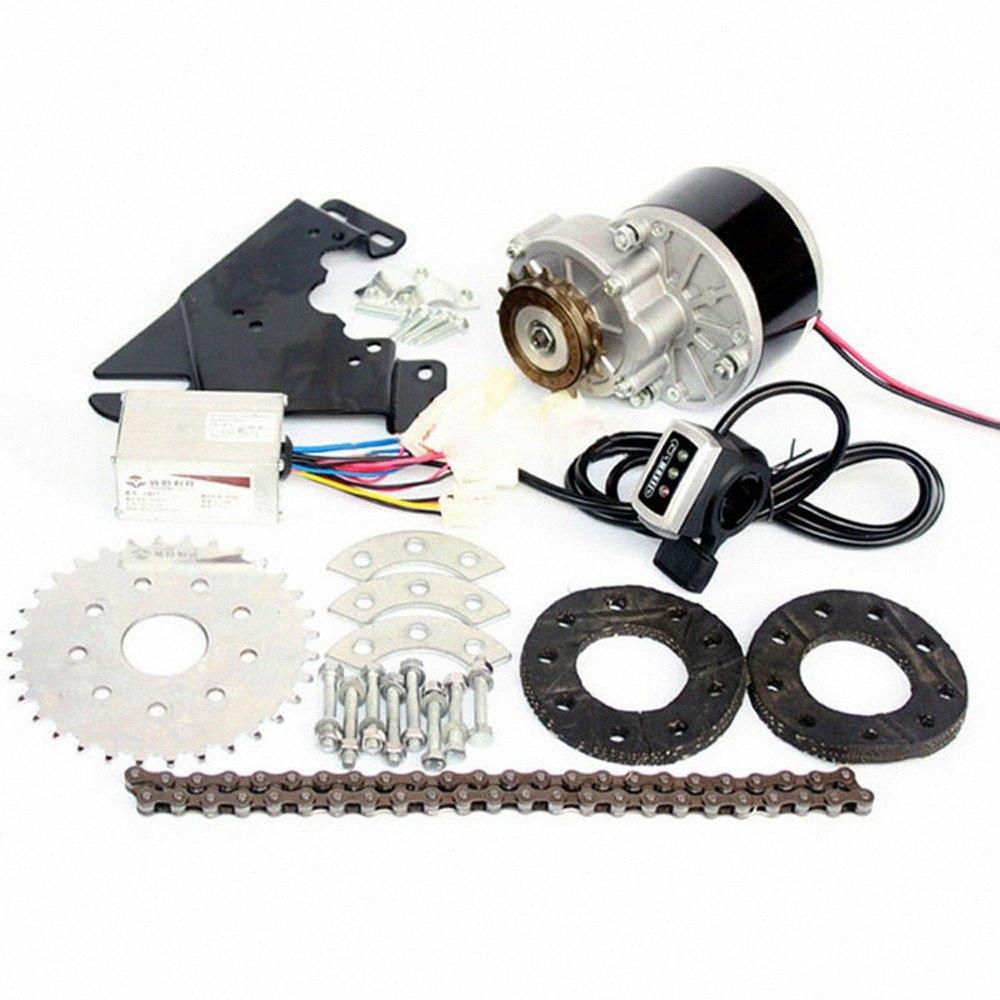 Bicycle Variable Speed Modified Kit 250W / 350W Motor Controller Left Flywheel Kit Bicycle Mountain Bike Electric Conversion A3ge#