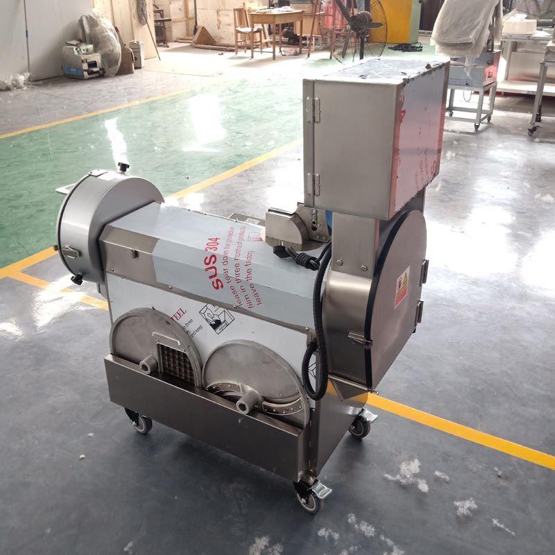 220V 110V 380V electric commercial slicer and shredder / home automatic vegetable cutting and dicing machine / высокое качество и долговечность
