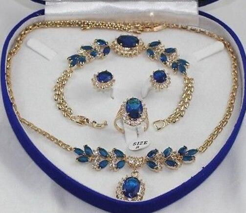 Женское свадебное колье с цирконом, колошение, браслет, комплект колец GP Bridal с широким корпусом часов brinco, настоящее серебро