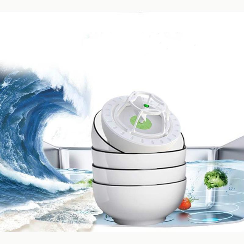 Portable Sink Ultrasonic Cleaner per lavastoviglie automatiche USB elettriche Lavatoi Frutta Verdura pulizia della macchina Bowl Piatti Rondella