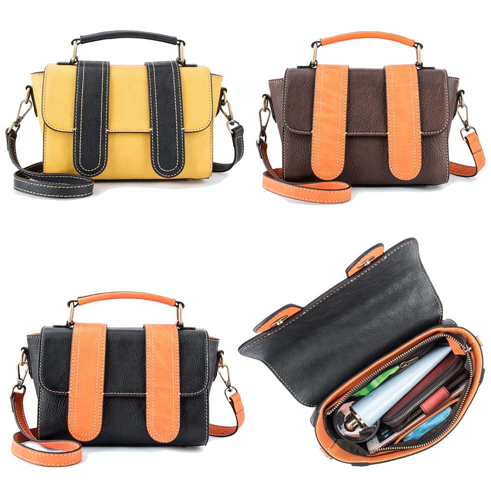 Casual Women Leather Satchel Shoulder Bags Ladies Sling Crossbody Messenger Bags