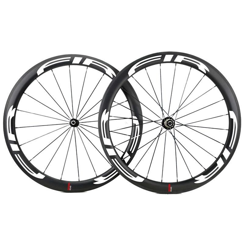 ruote marca Darktec pittura vasta clincher wheelset 50 millimetri 25 millimetri ruote di bicicletta 700C della bici del carbonio della strada AB-VR-50C