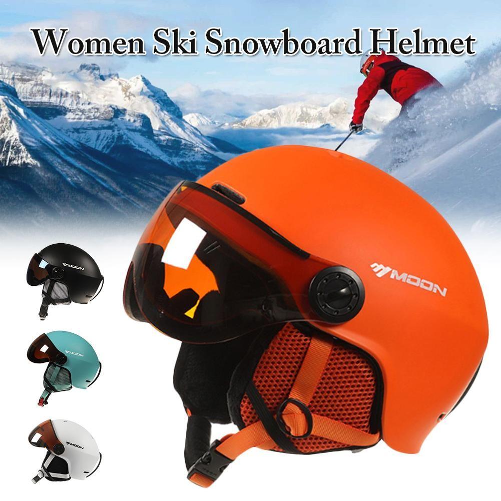 2019 Marke Skihelm vollvergossenen professionellen Erwachsenen Snowboardhelm Männer Frauen Skating / Skateboard Wintersport Helme
