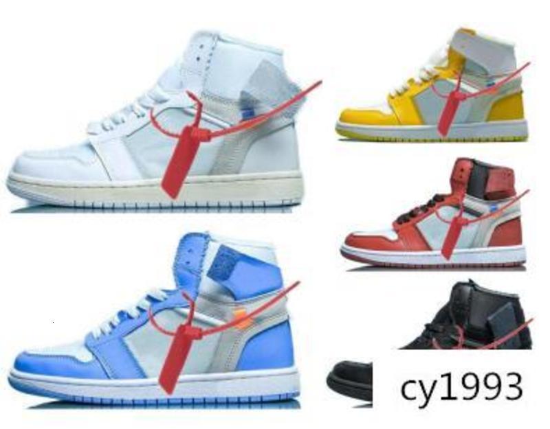 1 мужчин баскетбол обувь кроссовки от УНК Чикаго высокое голубое небо к 2020 году новых женщин всячески препятствовать 1С х OG Спорт свободного покроя дизайнер кроссовки обувь