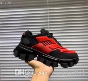 Cloudbust Thunder Knit scarpe da tennis di lusso del Mens Designer Scarpe Uomo sportivo classici pattini casuali tessuto Gomma formatori Outdoor Sneakers X33