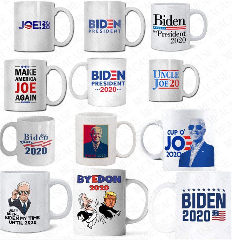 ABD Seçim Joe Biden Seramik Mug 2020 Cumhurbaşkanlığı Seçim Kahve Kupası 350ml İçme Suyu Bardaklar Drinkware Araçları D62904 yazdır