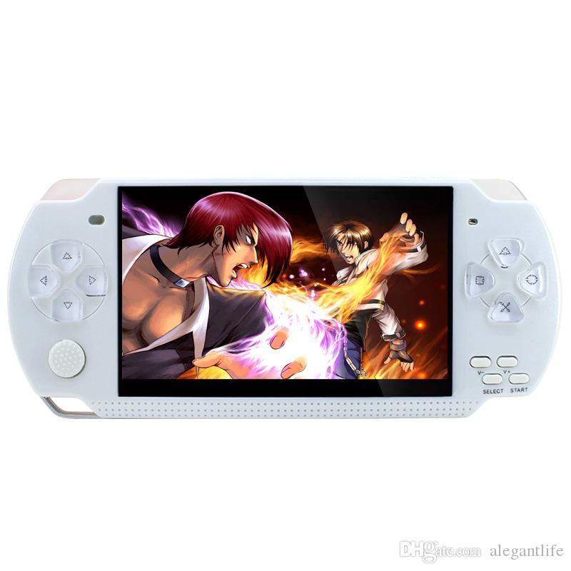 "new 16GB PAP II plus 4.3"" Handheld Game Player 64Bit PAP Gameta PMP PSP Built-In 1000 MP4 MP5 Video Game Consoles"