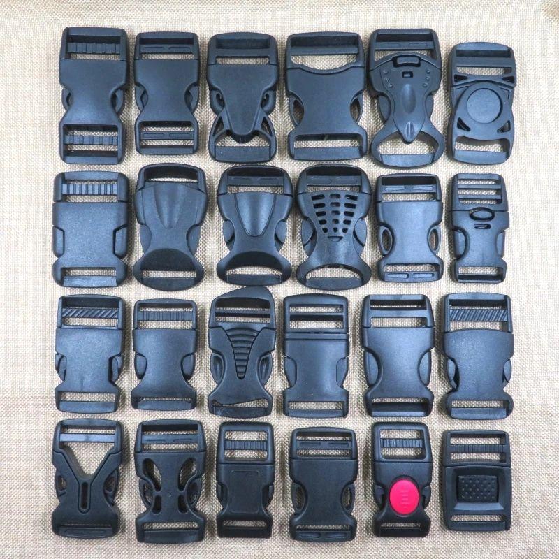 Заводские оптовые аксессуары для багажа пластиковые пряжки пластиковые рюкзак карты кнопки пряжки могут быть настроены окружающей среды B23434