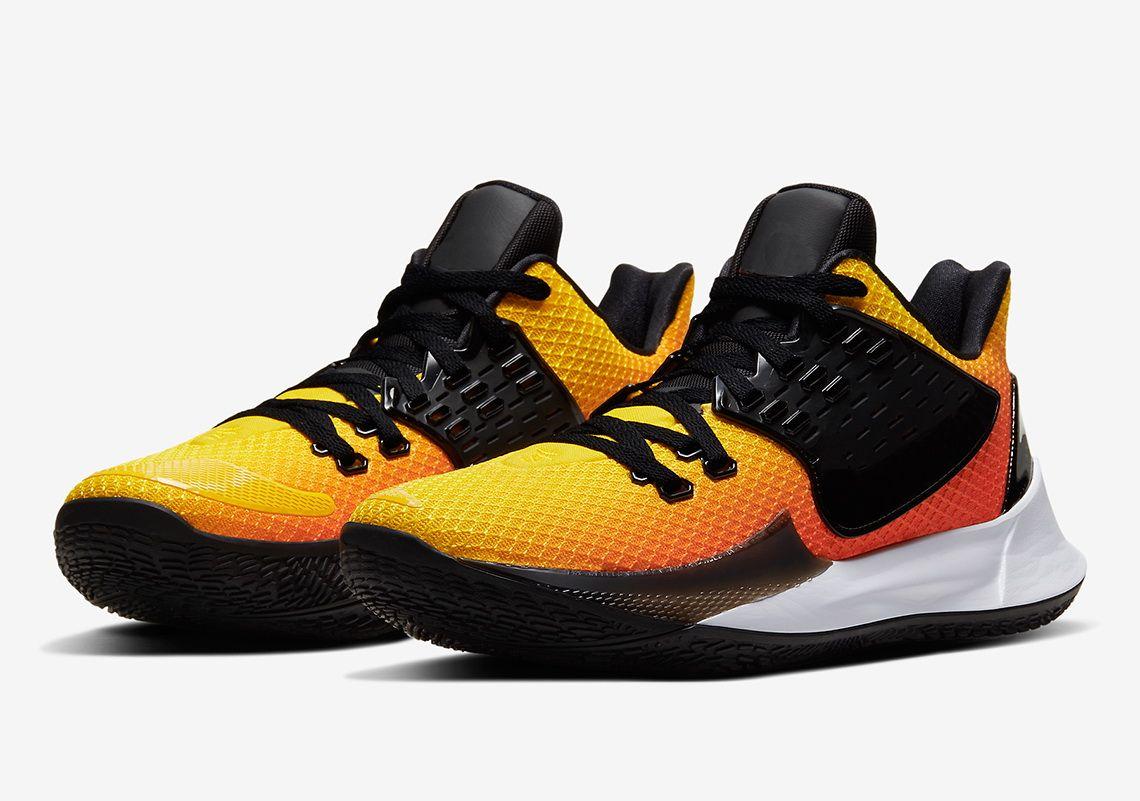 Alta qualità Kyrie Basso 2 Tn Sunset scarpe in vendita con la scatola nuova Irving 2 bassi Basket scarpe negozio di trasporto libero US7-US12