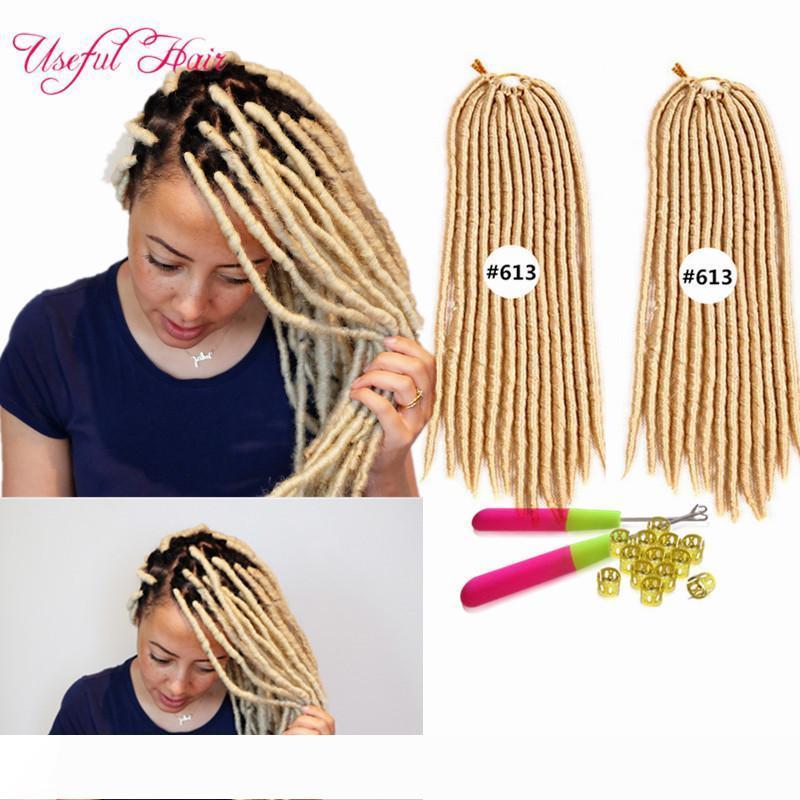 faux locs crochet braids syntheitc hair extension fast shipping dread straight braids dropshipping fashion 14,18inch fauxlocks braiding hair