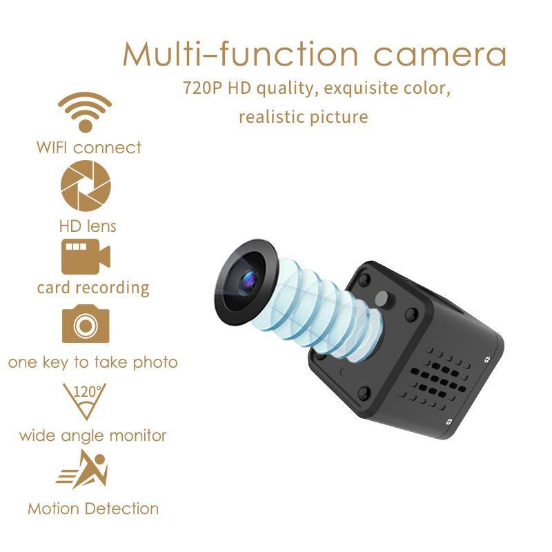 Cámara de vigilancia inteligente de la cámara de graffiti Tuya WIFI cámara de la batería Inicio Wireless HD 720P mini WiFi IP Cam almacenamiento en la nube caliente de la venta