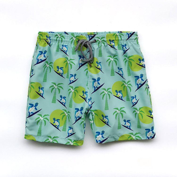 Los hombres de baño Vilebre herringbones TORTUGAS más nuevo verano ocasional pantalones cortos de los hombres de moda de estilo para hombre Pantalones cortos Pantalones cortos bermudas de playa 50292110