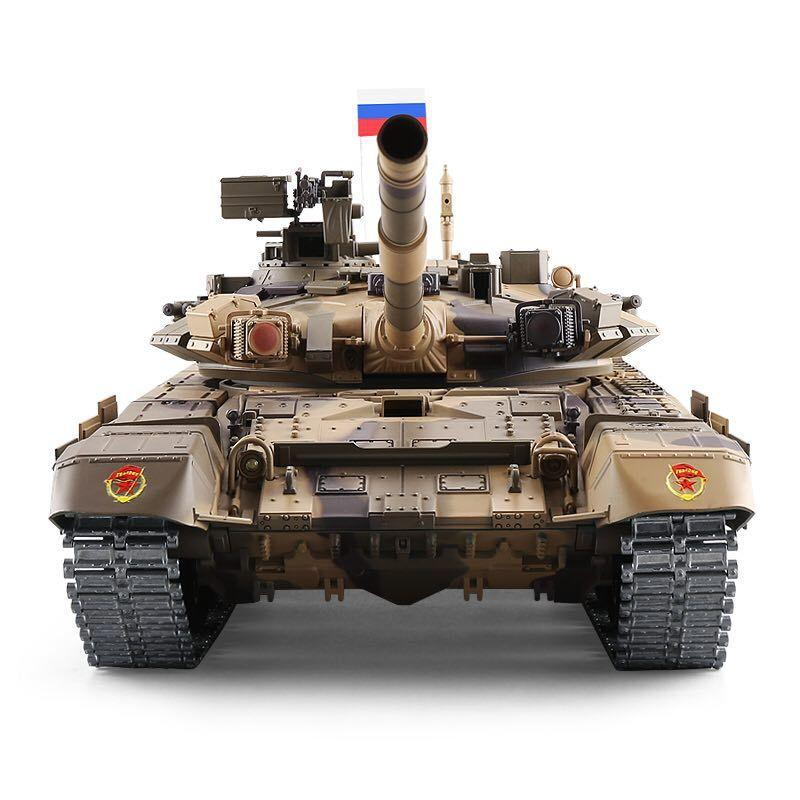 1: 16 yükseltme sürümü RC tankı savaş Kaplan Rusya T90 uzaktan tankı modeli parça dişli 3938 muharebe tankı açık çocuk oyuncak hediye Y200413