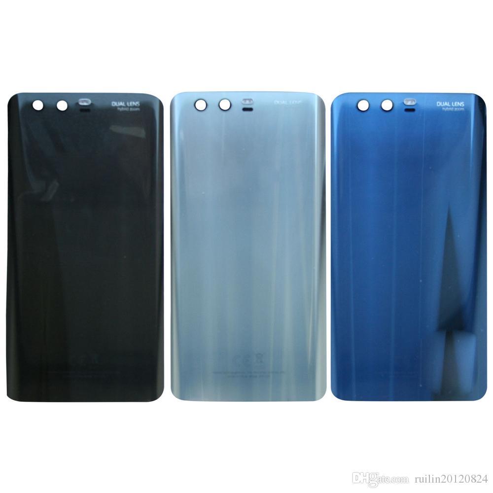 100% новый оригинальный для Huawei Honor 9 Аккумулятор задняя корпус случае панель ремонт с Adhensive стикер