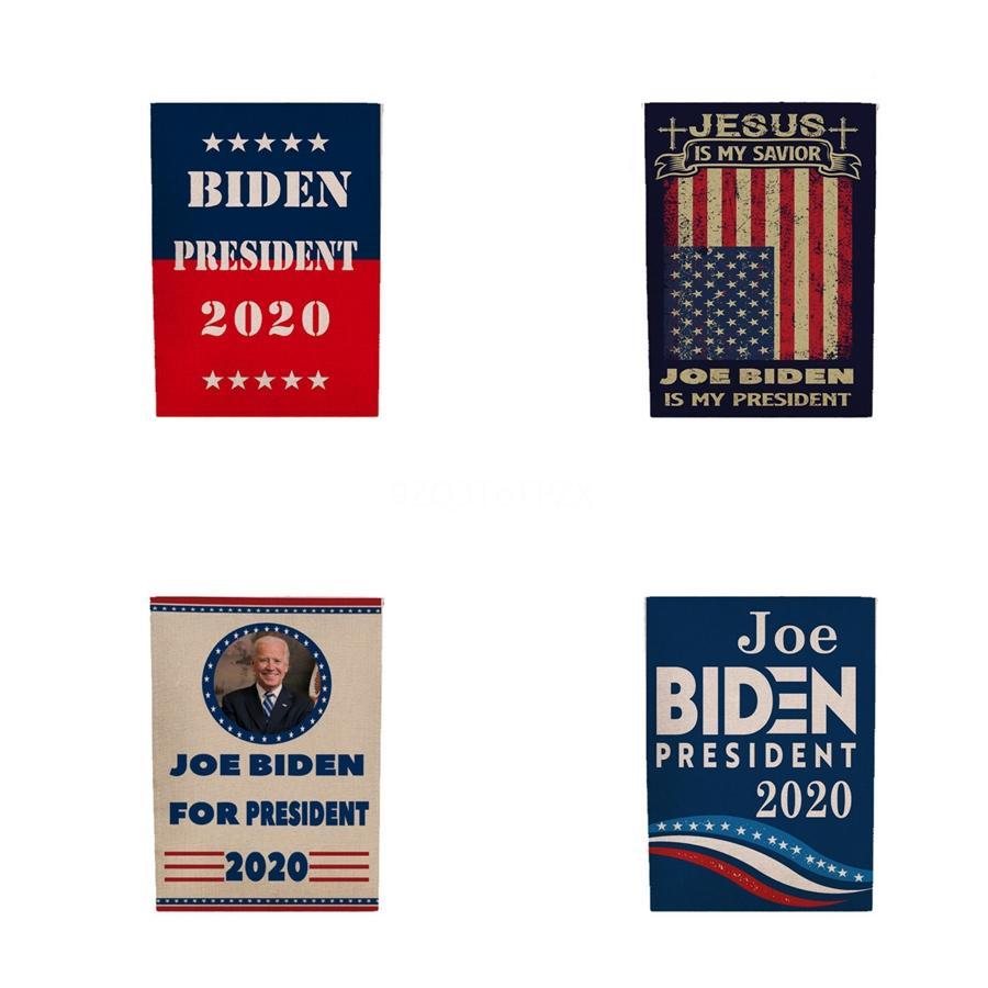 45 * 30 см Дональд Байден американские флаги полиэстер голова металлическая втулка 9 цветов флаг декоративный держать Америку Великий Байден баннер флаг Bh1750 Tq #686