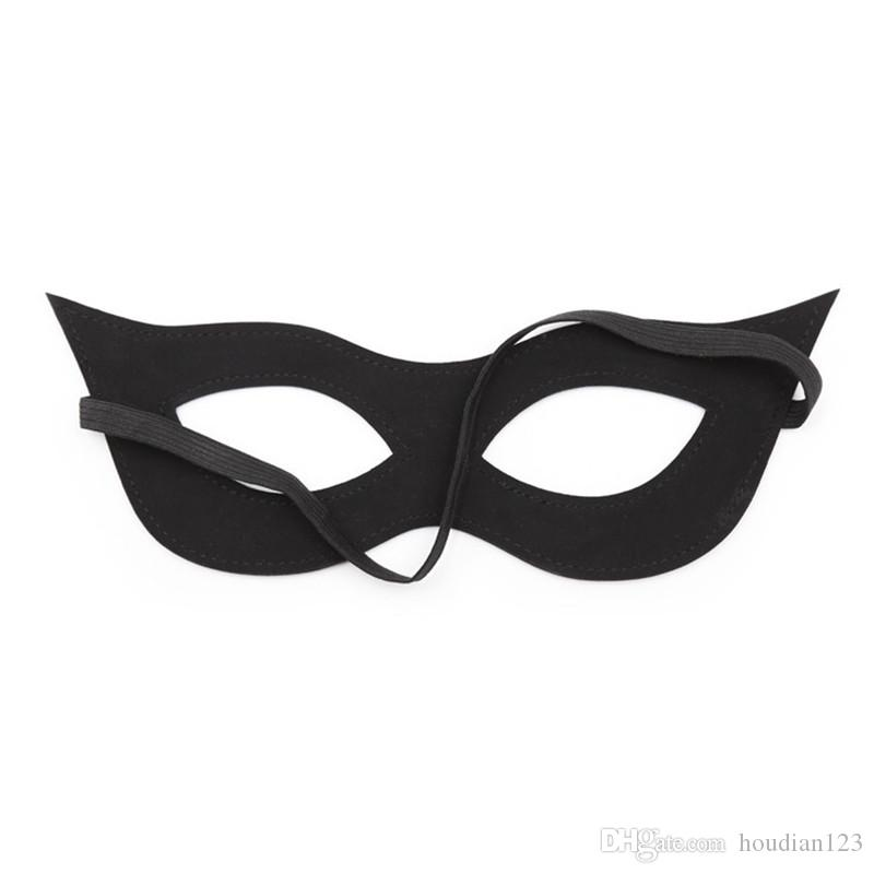 Eye Mask Black Line Elastic Band Open Eye Mask Black Elastic