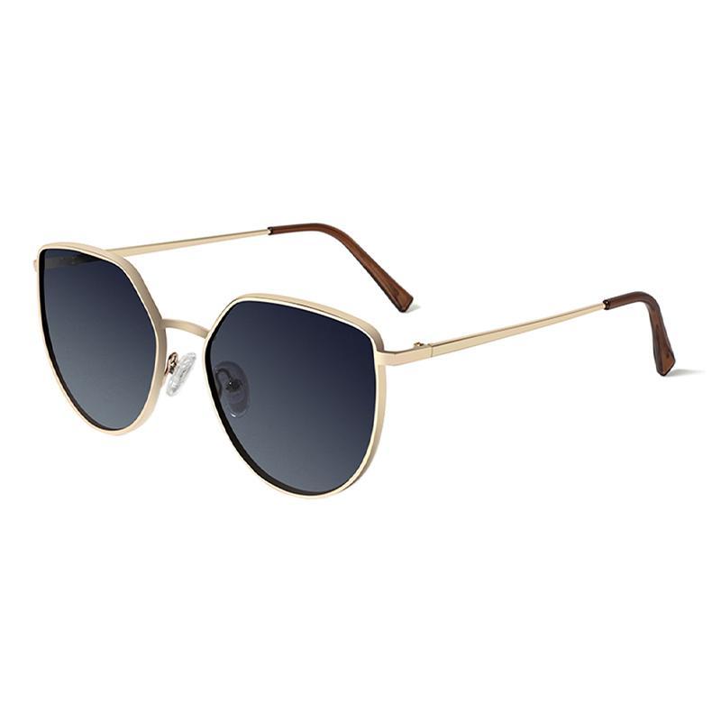 JULI rotondi occhiali da sole polarizzati per la Mens del progettista di marca di moda di guida Occhiali da sole Oculos maschio occhiali da sole UV Protect 8019