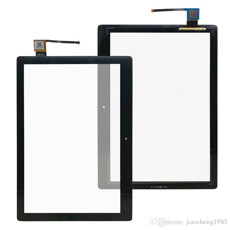 10.1 pulgadas de pantalla táctil del panel táctil para Lenovo Tab E-10 TB X104F X104F Tablet Piezas de repuesto Negro