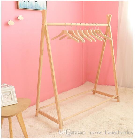 Perchero de ropa para niños Decoración de la habitación de los niños Perchas de ropa en tiendas de ropa infantil Accesorios fotográficos para la exhibición de vestuario