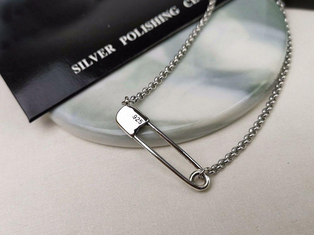 pin collana di moda i bijoux a catena per uomo e donne di personalità di tendenza punk regalo gioielli hip hop stile Lovers croce