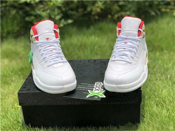 12s zapatos al por mayor de la FIBA de baloncesto del Mens inversa Taxi juego azul real de gimnasia Red Wings zapatillas gris diseñador de los hombres deporte entrenadores