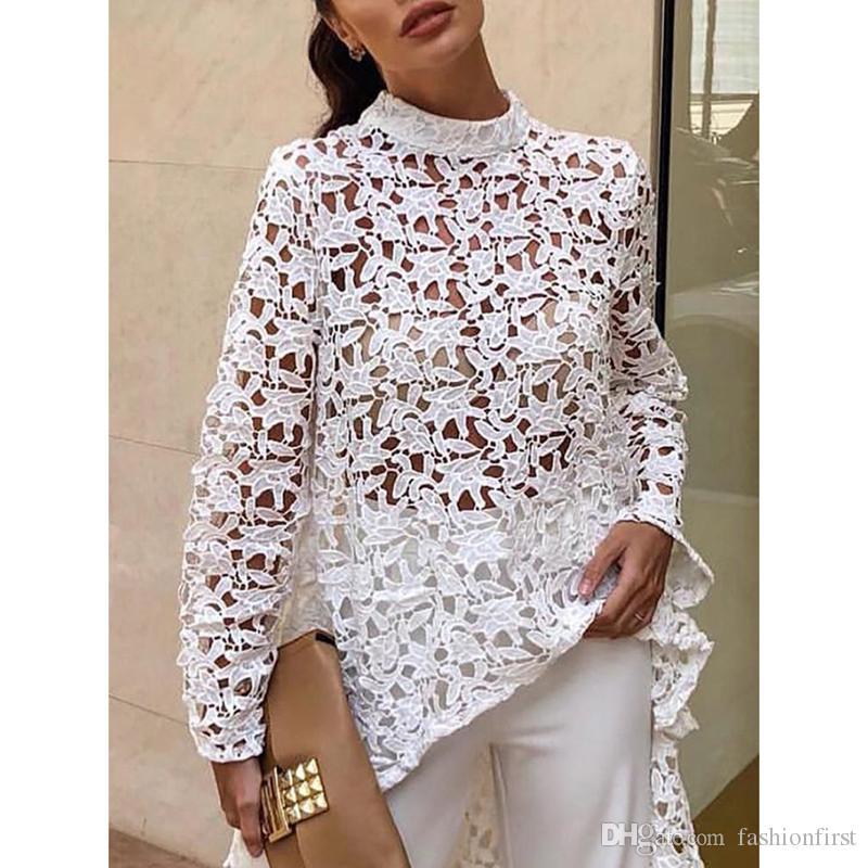 مبيعات ساخنة جديدة للنساء فستان الدانتيل والتطريز الأوروبي الرمال عطلة الأمريكي نمط اللباس الأبيض بالإضافة إلى الوردي حجم الملابس