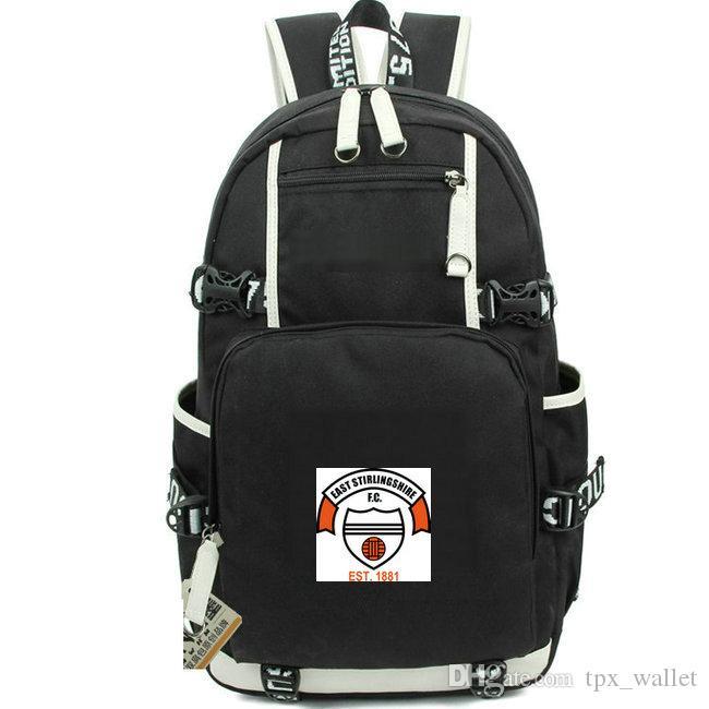 Рюкзак Stirling East FC футбольный клуб Daypack 1881 Футбольная команда школьный портфель Лучший рюкзак для ноутбука Day pack Спортивная школьная сумка Out door backpack