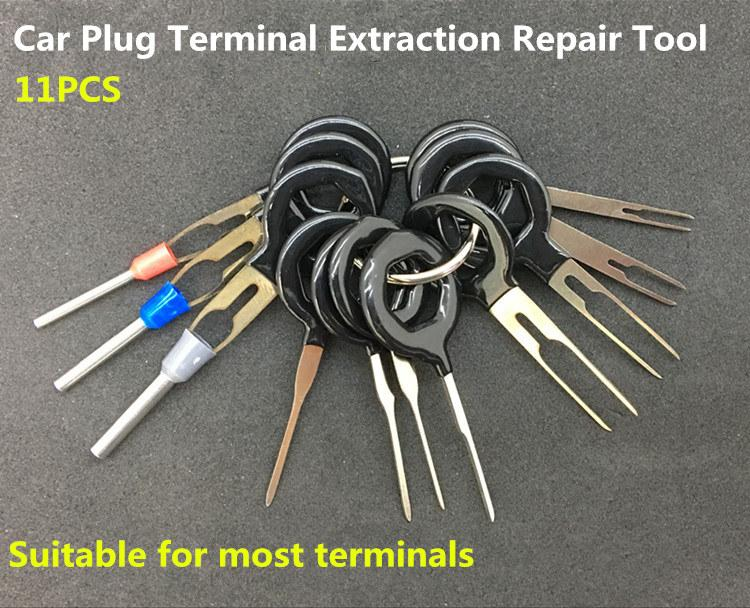 2019 Auto Car Plug Circuit Board Wire Harness Terminal Extraction Pick Connector Crimp Pin Back Needle Remove Tool Set From Knite07 46 05