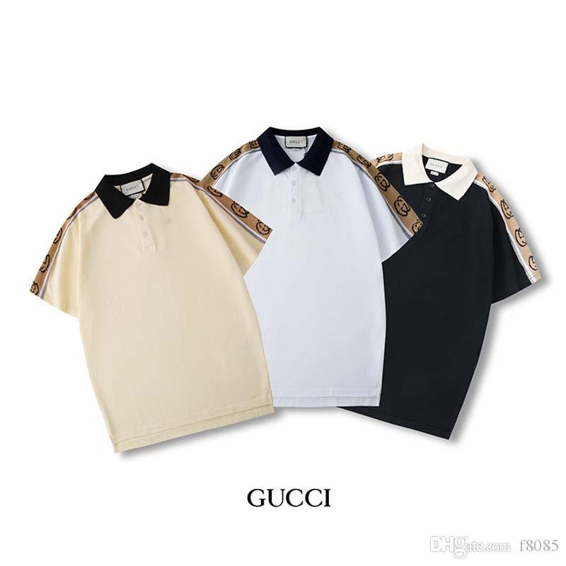 2020 camicia di cotone della molla t-shirt e l'estate di alta qualità degli uomini di stampa manica corta T-shirt collo rotondo di lusso dimensioni casual top s-2xl