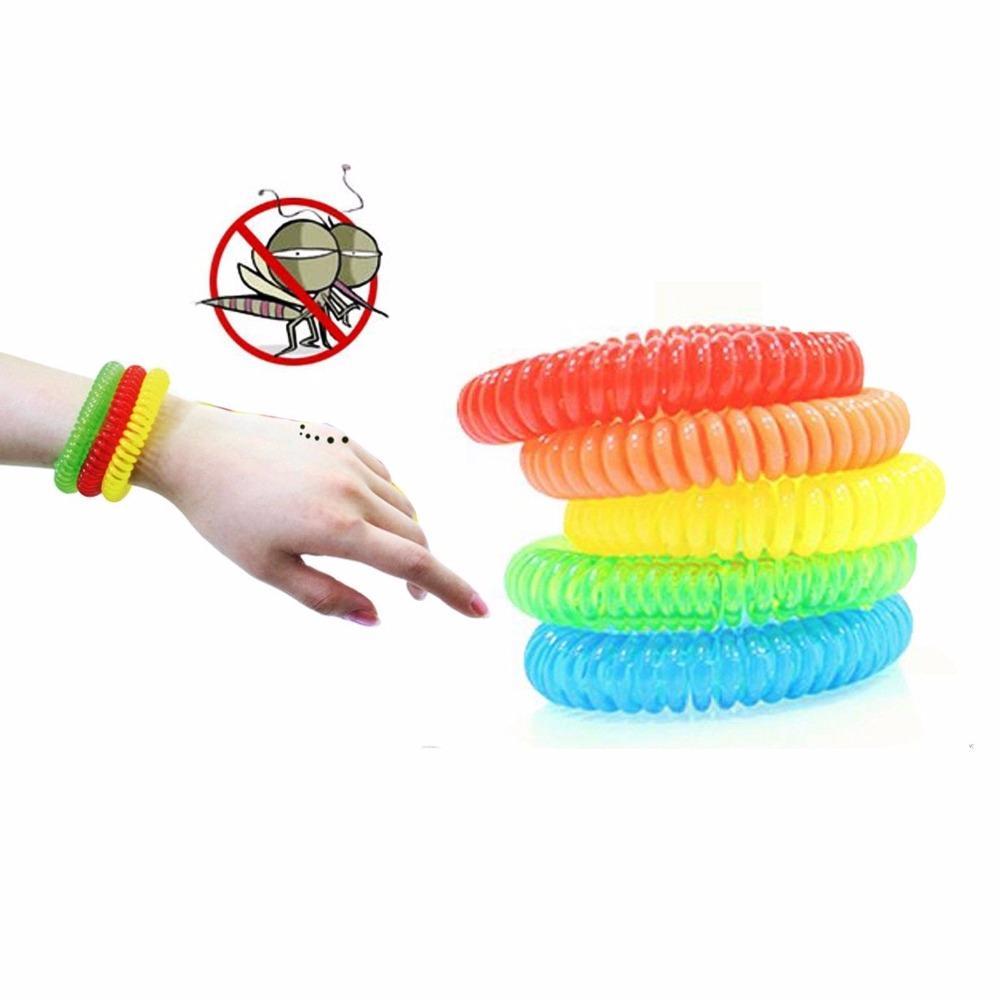 Pour éloigner les moustiques Band Bracelets anti moustiques adultes pur et enfants naturels Poignet couleurs mixtes Pest Control