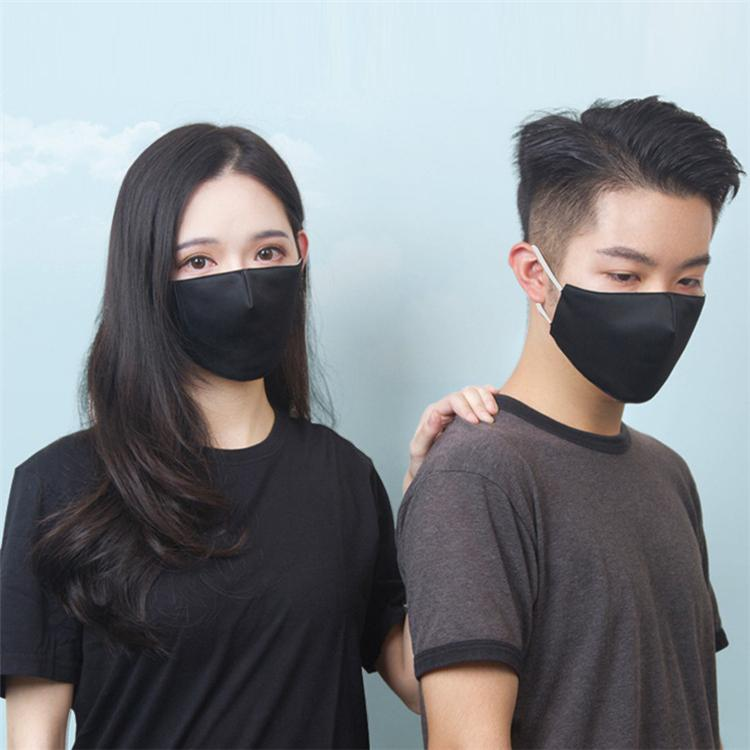 Inicio paño de algodón lavable cara delgada máscara de color sólido hombres al aire libre respirables y mujeres máscaras de algodón ajustables Máscara diseñador impresa 6056