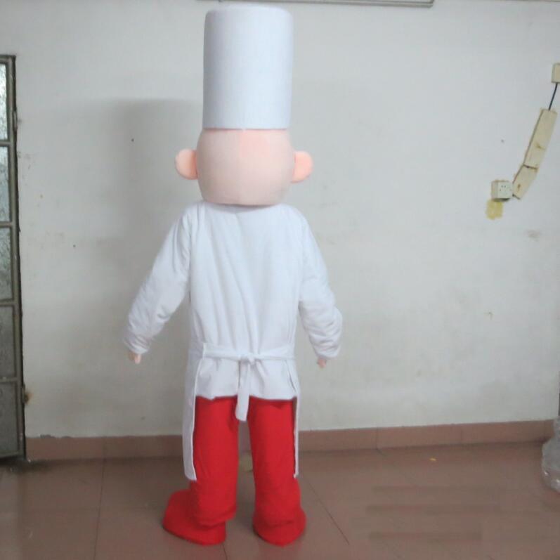 Gros-2018 de haute qualité à chaud la tête cuisinier costume de mascotte chef pour adulte à l'usure à vendre