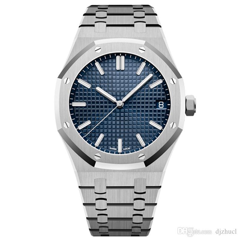mens relógios mecânicos automáticos de 42mm de aço inoxidável cheia de natação relógios de pulso safira Super luminosa fábrica u1 montre de relógio de luxo