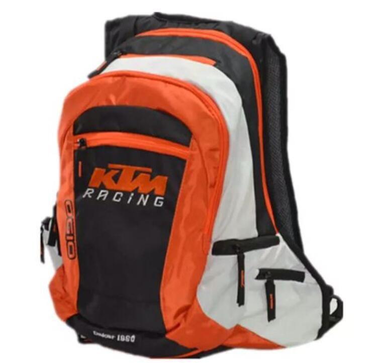 Motocicleta KTM Ciclismo Backpack Cavaleiro Equipamentos Pacote Motorcycle Bag Outdoor Backpack Mobbin Viagem Backpack