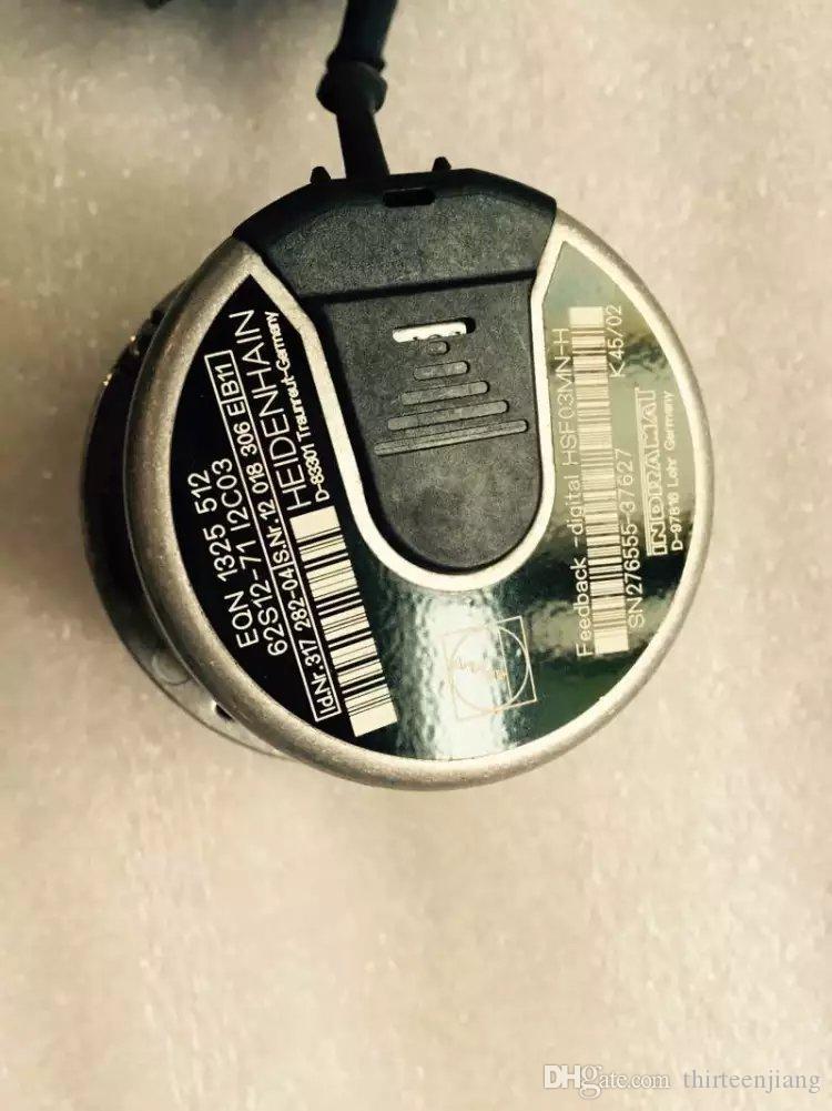 1 PC Heidenhain Encoder EQN 1325 512 62S12-71 I2C03 ID 317 282-04 Usato