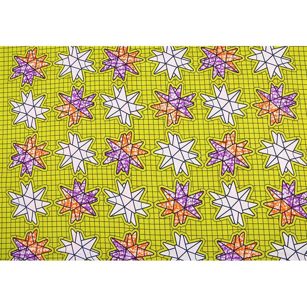 2020 Ankara Африканского Полиэстер Wax печать Ткань Бинт Реального воск высокого качество 6 ярда / шт African Ткань для платья партии FP6128