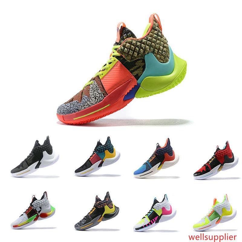 21s новости почему не баскетбол обувь мужчины 0,2 кроссовки Уэстбрук II zer0.2 кроссовки ноль 2 оригинальные тренеры нам размер 40-46