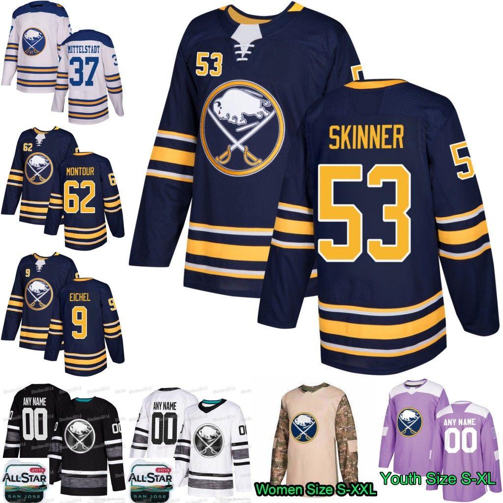 Jack Eichel /& Jeff Skinner Buffalo Sabres 2019 NHL All-Star Game Photo Size: 11 x 14