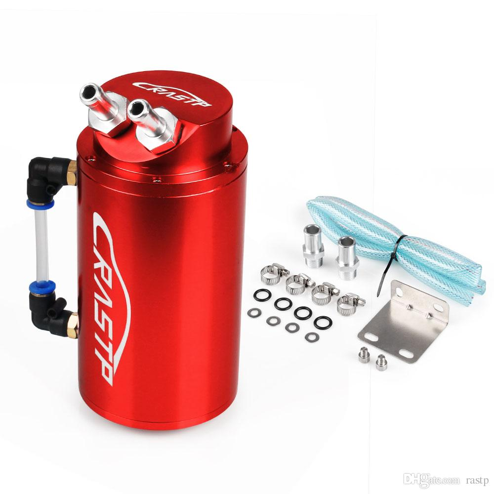 2019 RASTP High Quality Universal Aluminum Alloy Cylinder Round Reservoir  Turbo Engine Oil Catch Tank Breather Can RS OCC019 From Rastp, $12 82 |