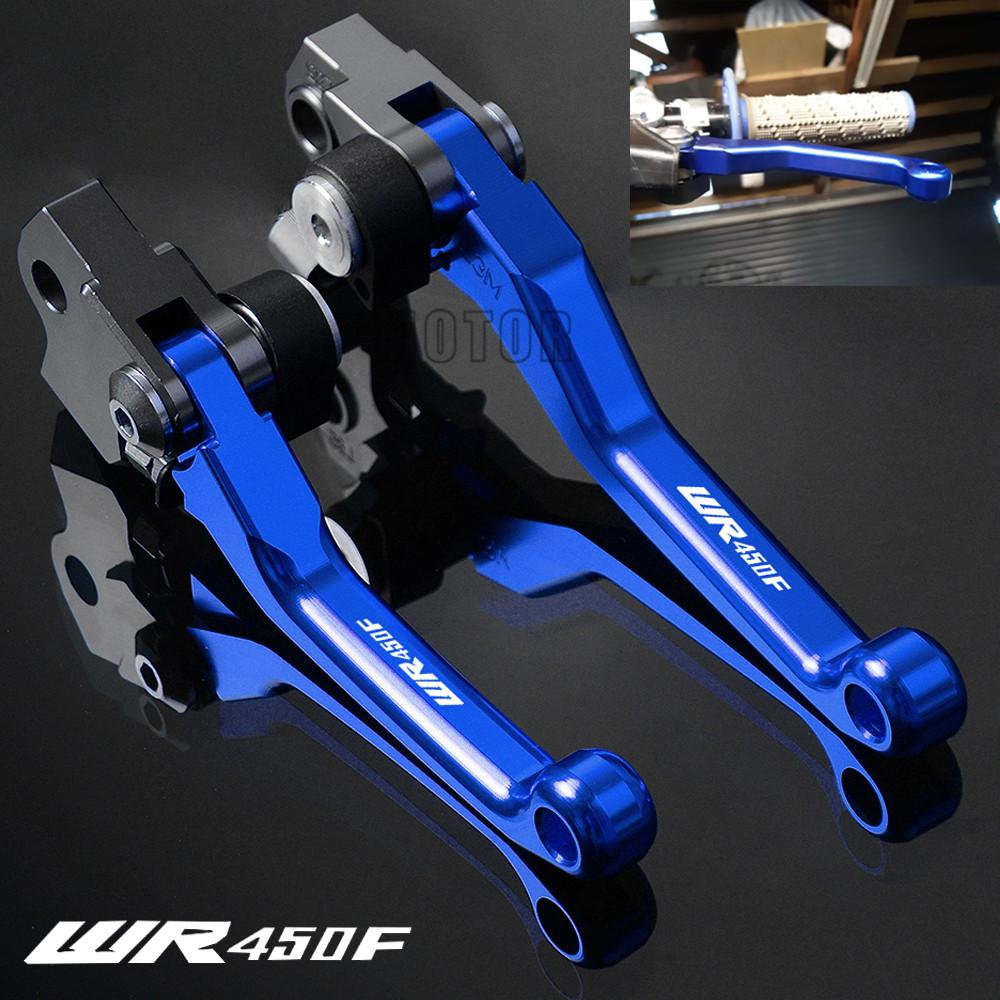 For WR450F 2005-2018 WR450 WR 450F 450 F CNC Aluminum Motorcycle Dirtbike Dirt Bike Motocross Pivot Brake Clutch Levers
