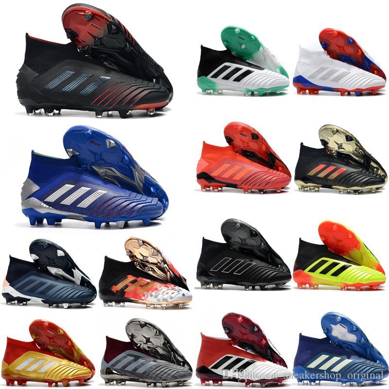 2019 أعلى جودة الساخن بيع أحذية كرة القدم المفترس 19 fg كرة القدم المرابط رجل أحذية كرة القدم المفترس التانغو 19 بوتاس دي فوتبول الأثري 04