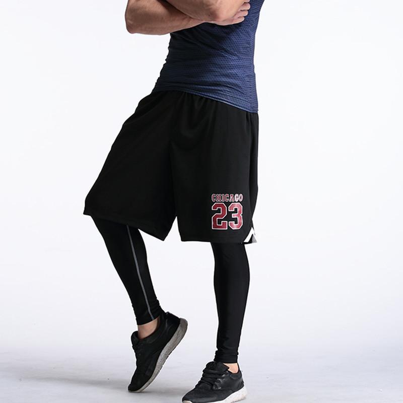 Basket-ball Homme Shorts Respirant Sport short de course avec poche pour les hommes d'été athlétiques