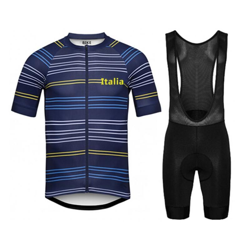 New 2020 Pro Cycling Team Vêtements Route Bike Wear Racing Kits Quick Dry Maillot cyclisme Homme Set Ropa Ciclismo Maillot