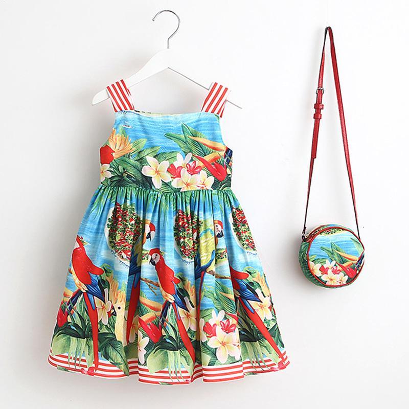 Bebek Kız Giydirme Yaz Çanta Robe Enfant Noel Elbise Prenses Çocuk Giyim T191006 ile 2018 Marka Çocuk Giyim Bebek Giydirme