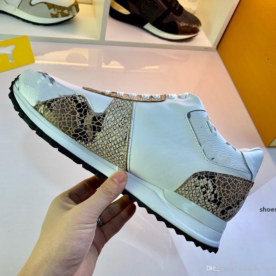 YENİ Designer spor ayakkabısı Marka Kadın Erkek Ayakkabı Deri ABD 4-11 mlk02 Karışık Renk Trainer Runner Ayakkabı Unisex Boyutu Mesh