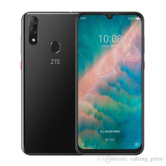 "Original ZTE Blade V10 4G LTE Handy 4 GB RAM 64 GB 128 GB ROM Helio P70 Octa Core 6,3 ""Vollbild 32 MP Fingerabdruck ID OTA Handy"