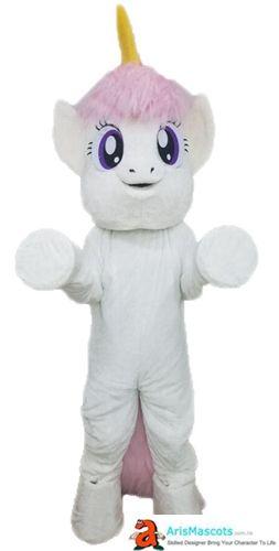 Unicorn Professional Quality Lightweight Mascot Costume Adult Size