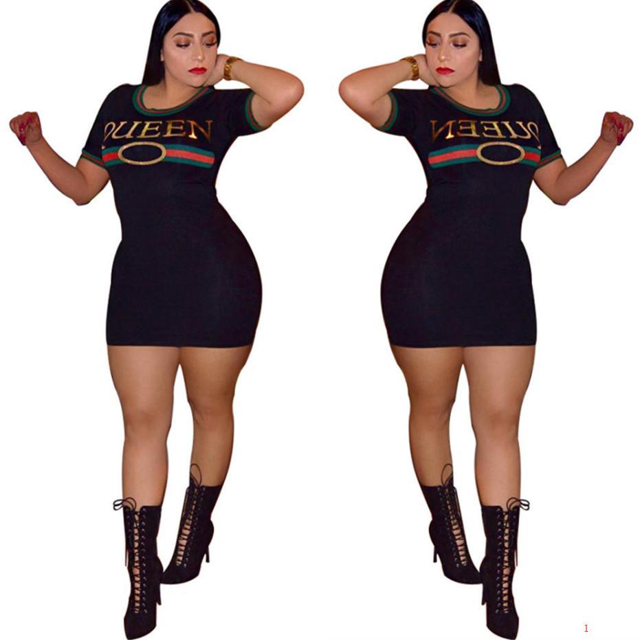 Новое женское дизайнерское платье с буквенным рисунком Bodycon Clothes Rinted Dresses for Party Queen Summer Slim Club Dress Lll9062102//